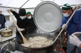 メニュー1 豚丼 500人分